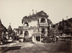 The Motisah Temple from the south-east [Satrunjaya]